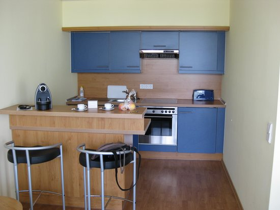 Aparion Apartments Berlin: kitchen