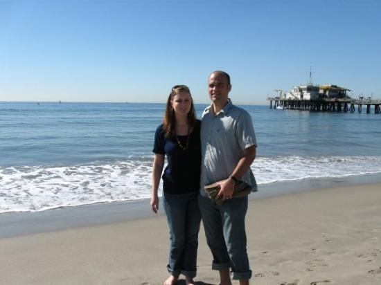 Santa Monica Pier: More SM pier at Lake California