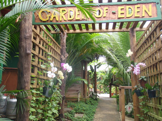 Garden of Eden Inn: Entrance -
