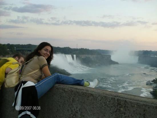 Border Of Usa And Canada Picture Of Niagara Falls New