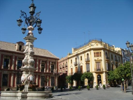 Hotel Plaza Santa Cruz Siviglia