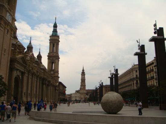 Plaza del Pilar Zaragoza Spain Picture of Zaragoza Province of