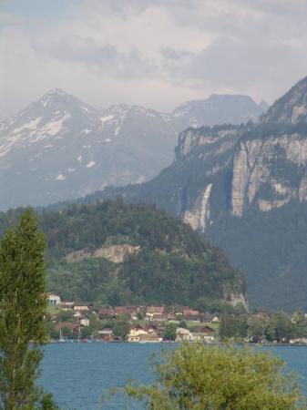 Brienzersee: Brienz, Switzerland.. bliżej nieba