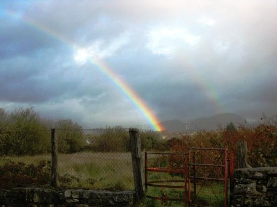Machynlleth, Wales: The 3rd of 3 rainbows in one day.