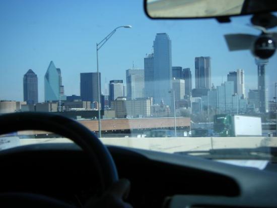 อาบีลีน, เท็กซัส: Welcome to Dallas! et pareil...plus rien après pask'on a fait que dodo dans la voiture :s mais c
