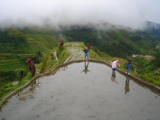 8th Wonder of the World, Rice Terraces at Banaue, Philippines.