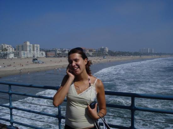 Santa Monica Pier: Me on Santa Monica's Pier, CA, Summer 2008