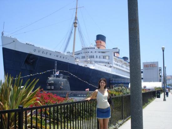 Me Queen Mary Long Beach Ca Summer 2008 Picture Of