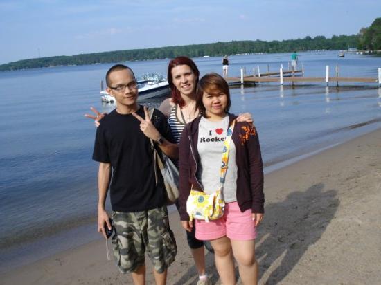 Bay Lake: Max, Me & Tukta on Gull Lake
