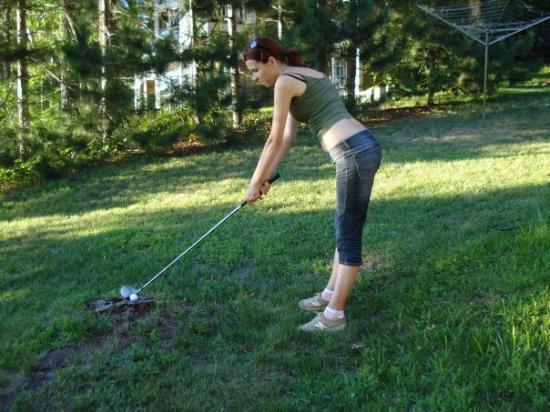 Legacy at Cragun's: I'm playing golf