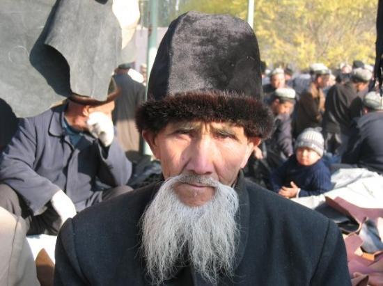 Bazaar at Kashgar