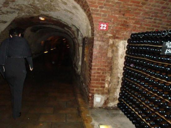 Moet et Chandon Champagne Cellars: cave de moët&chandon