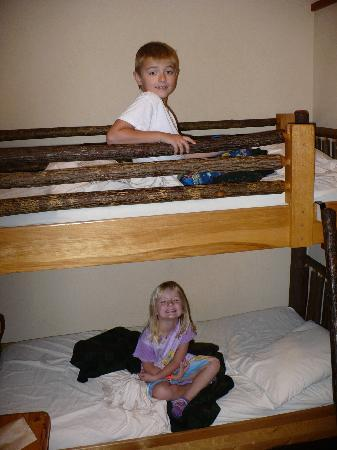 Great Wolf Lodge: The kids LOVED the cabin suite and we were upgraded for free!