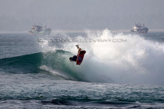 Bandar Lampung, Indonesien: Flippin some more