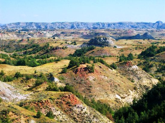 Buffalo Gap Guest Ranch and Trail Head: Scenic canyon view a few miles up the road