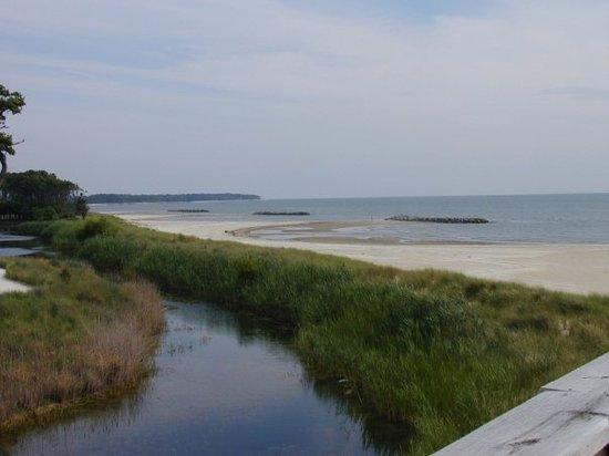 Cape Charles, Wirginia: the bay