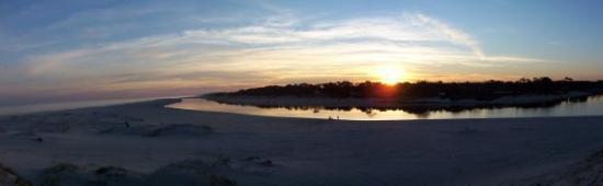 Parque del Plata, Uruguay: Playa Puerto Pirata Balneario La Floresta y desembocadura arroyo Solis Chico