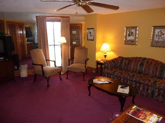 Hotel de la Monnaie: Living room