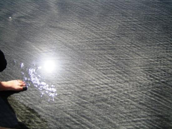 Kotu, แกมเบีย: Jukin iloinen varvas hiekkarannalla :)