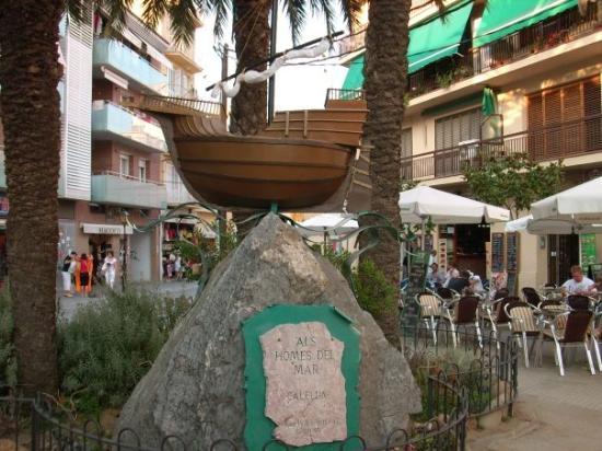 แคเลลา, สเปน: piazza di calella