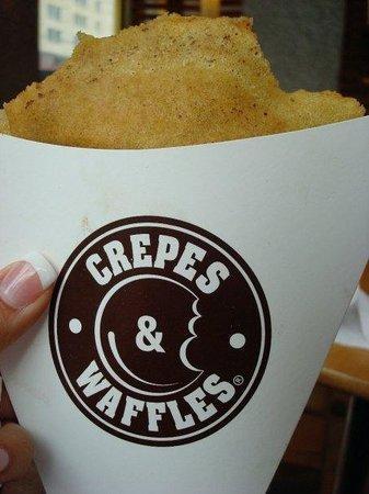Crepes & Waffles : YUMMAYYYYY!!!