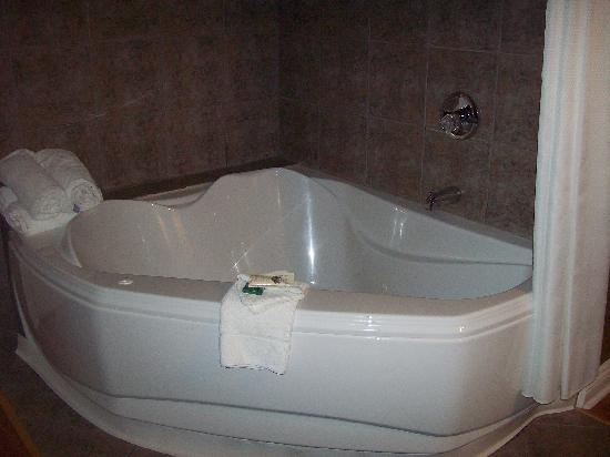 Gretna Green Bed and Breakfast : Fantastic whirlpool tub, complete with bath salts