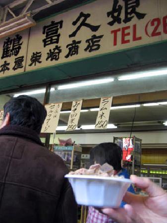 Kawasaki Daishi Heiken-ji Temple: 有名な柴崎商店でもつ煮込みと甘酒
