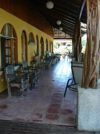Costanera Bed and Breakfast: The balcony