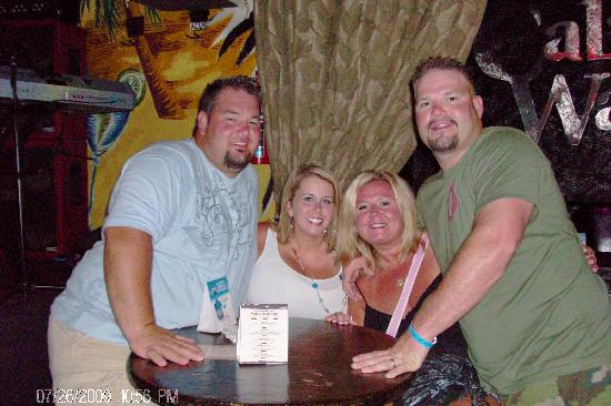 The Winters & Pendleys at Cabo Wabo