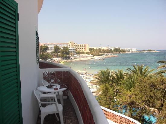 View from Hotel balcony on the 2nd floor