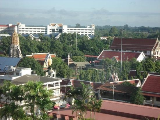 เมืองพิษณุโลก, ไทย: View from Hotel