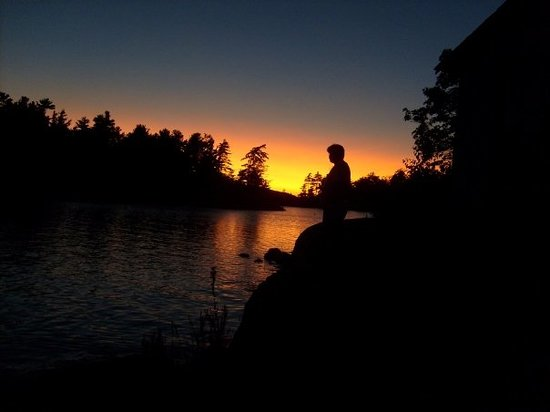 Parry Sound, Kanada: I also took a lot of sunset pictures.