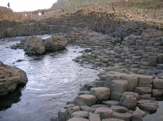Noord-Ierland, UK: The Giant's Causeway
