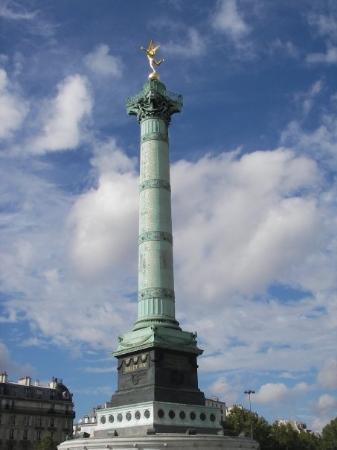 Place de la Bastille: Tour Bastille