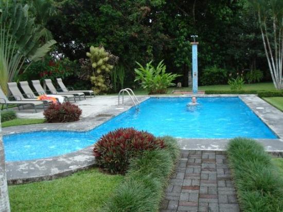 บากาเซส, คอสตาริกา: Our hotel pool in Fortuna