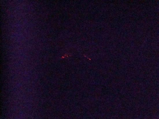 บากาเซส, คอสตาริกา: Lava rocks on the Arenal Volcano at night