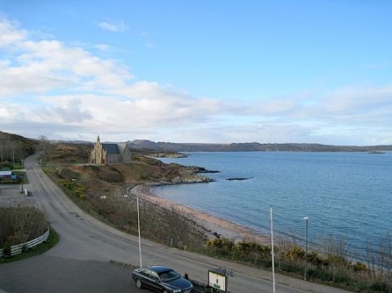 Gairloch Hotel: view from the hotel in Gairloch