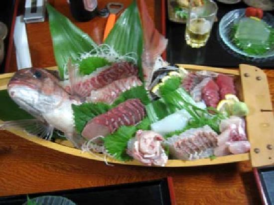 Fukuejima: 西光荘夕食