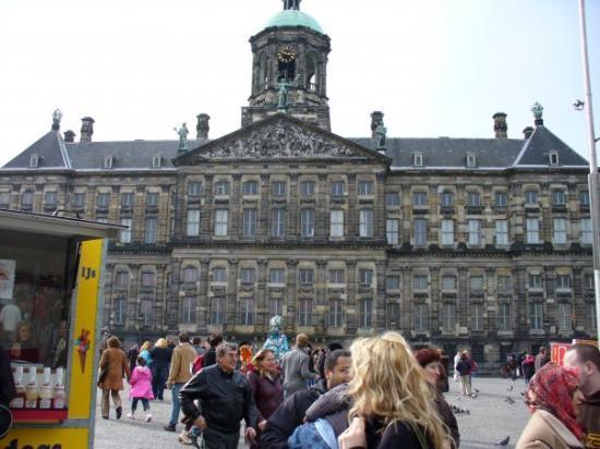 Royal Palace Amsterdam ภาพถ่าย