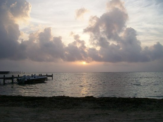 Belize City, Belize: sunrise San Pedro, Belize