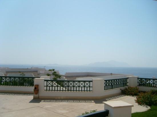 Coral Beach Resort Montazah: Vista dalla camera