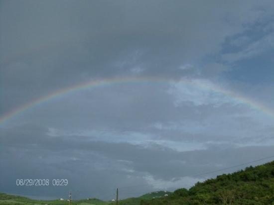 คริสเตียนสเต็ด, เซนต์ครอย: Rainbow over Seven Hills