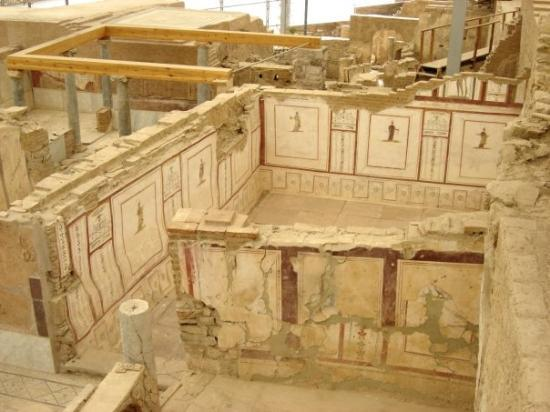 The Terrace Houses: The Ephesus terrace houses that are currently being uncovered.  The excavation of the old city i
