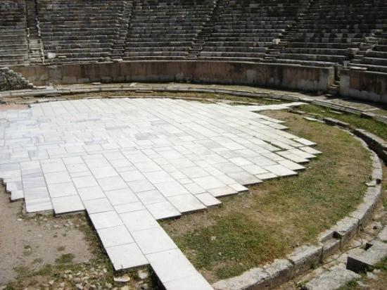 "Efes Antik Kenti Tiyatrosu: The beautiful Colosseum where Paul spoke.  ""IN Ephesus"""