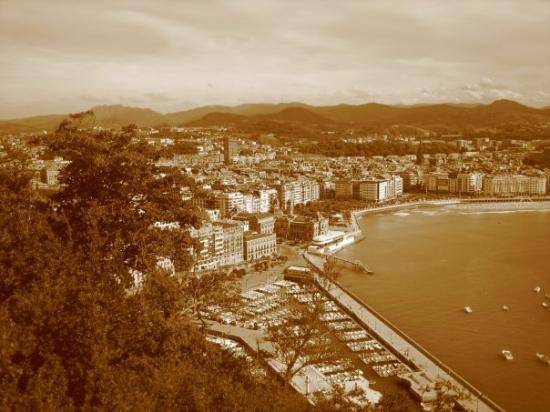 San Sebastian - Donostia, Spain: Foto artistica...