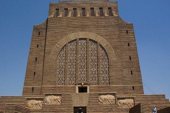 Pretoria, Afrika Selatan: Este es el Museo de los Blancos. Horroroso. Es como si la UDI hiciera un museo de la tortura
