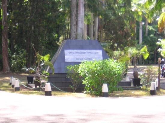 Pamplemousses: Jardin de Pamplemousse
