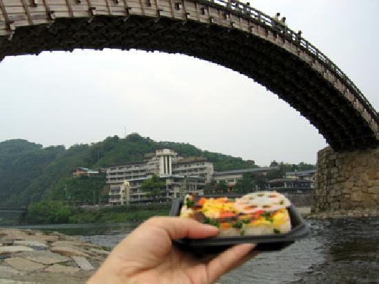 Pont de Kintaikyo : 岩国すし