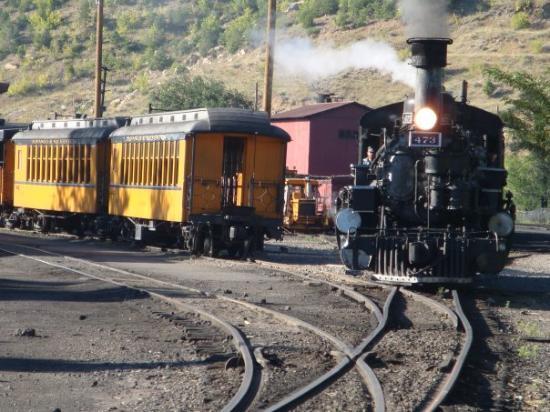 Treno a vapore durango silvertone foto di durango and for Noleggio di durango cabinado colorado