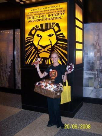 The Lion King: Lion King Broadway Musical...absolutely amazing!!!